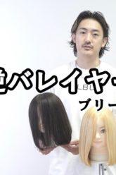【ALBUMパーフェクトガイド】逆バレイヤージュ〜ブリーチ施術のポイント〜(桑原)